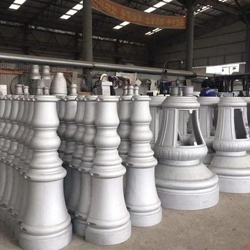 aluminum casting fountain